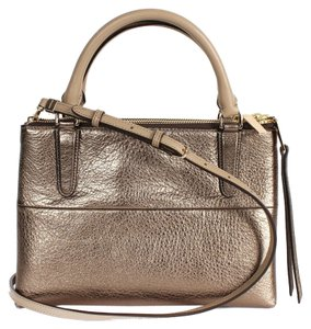 Coach Mini Mini Borough Borough Bronze Mini Sale Cross Body Bag
