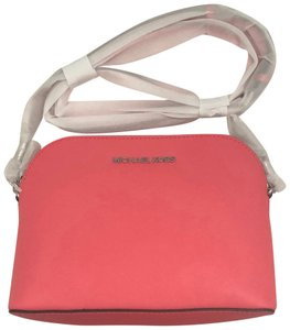 MICHAEL Michael Kors Leather Spring Structured Cross Body Bag