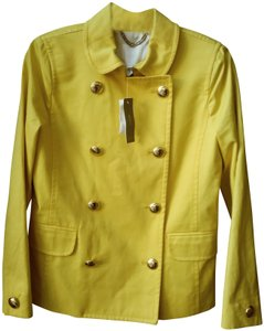 J.Crew Spring Jacket Yellow Coat