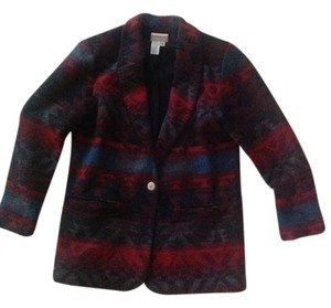 Coldwater Creek Multi color(red,maroon, black, grey, denim blue) Blazer