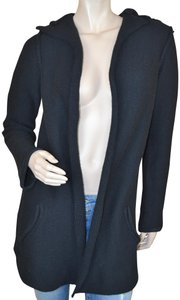 James Perse Hooded Knit Cardigan