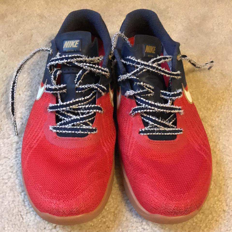 fc80a38b4ccb0 Nike Red White and Blue Freedom Men's Metcon 3- Training Sneakers Size US  10.5 Regular (M, B) 39% off retail