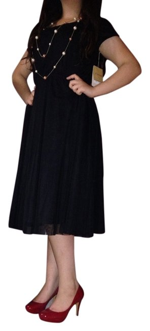 DownEast Basics short dress Black on Tradesy