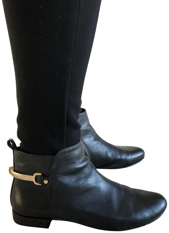 MISS Burch Tory Burch MISS Black Shelby Boots/Booties superior d4e580