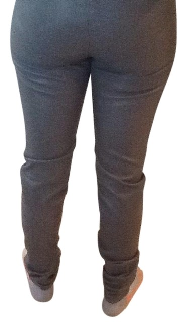 Item - Gray Real Leather Stretch Leggings Size 6 (S, 28)