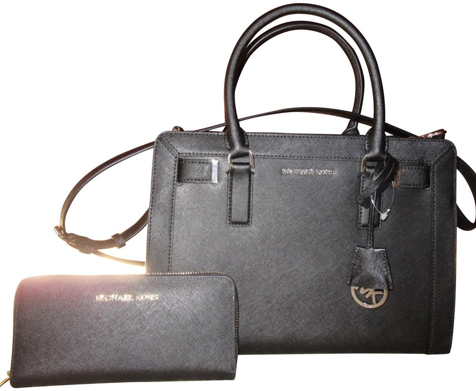 4b0e20730249 MICHAEL Michael Kors 'dillon' Satchel Black Leather Tote - Tradesy