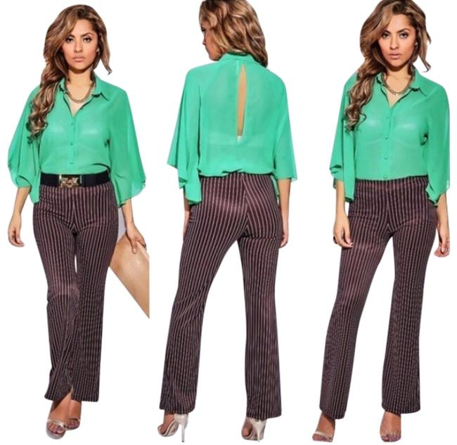 Preload https://item5.tradesy.com/images/brown-white-marissa-pinstriped-size-8-m-29-30-2295554-0-0.jpg?width=400&height=650