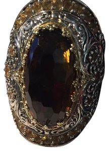 Konstantino Konstantino Ilios Cocktail ring Sterling, Gold & Marquise Citrine