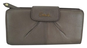 Coach COACH ASHLEY BIFOLD WALLET BROWN AUTHENTIC