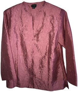 Eileen Fisher Evening Silk Pink Jacket