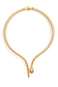 Eye Candy Los Angeles Eye Candy Los Angeles Snake Collar Necklace Gold