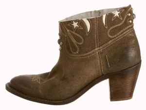 Golden Goose Deluxe Brand Brown Boots