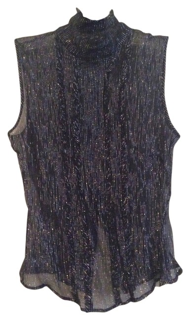 Preload https://img-static.tradesy.com/item/2295685/the-limited-black-sheer-high-neck-blouse-night-out-top-size-4-s-0-0-650-650.jpg