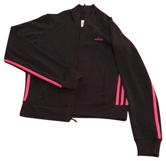 Item - Black with Pink Trimmed Activewear Outerwear Size 8 (M)