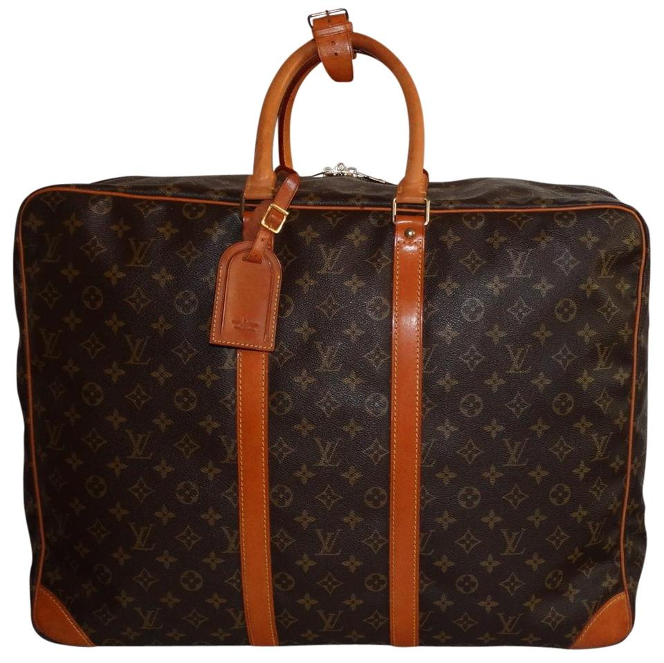 Louis Vuitton Sirius Monogram 55 Suitcase Brown Canvas Weekend ... 88a78d65a6