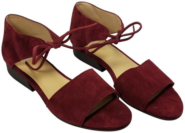 Item - Plum New Ely Suede Heel Sandals Size US 7 Regular (M, B)