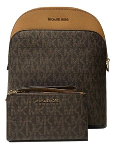 Michael Kors Leather Wallet Matching Set Backpack
