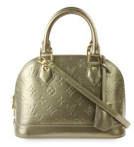 95ee417117ec Louis Vuitton Alma Monogram Vernis Bags - Up to 70% off at Tradesy