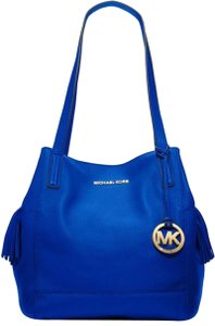 Michael Kors Tote Satchel Purse Royal Electric Shoulder Bag