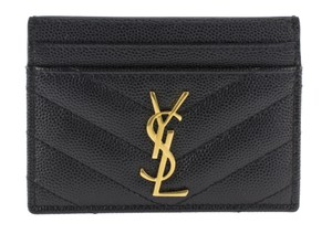Saint Laurent Quilted Cardholder