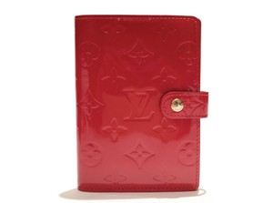 Louis Vuitton Louis Vuitton Agenda Cover PM in Red Vernis