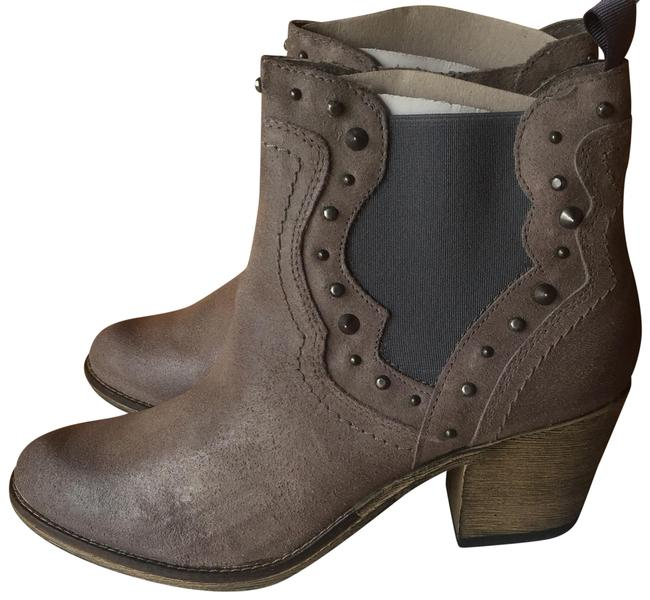 Item - Gray Concrete Leather Cowgirls 11 Boots/Booties Size US 10 Regular (M, B)