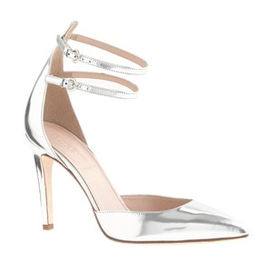 J.Crew Metallic Date Night Night Out Silver Pumps