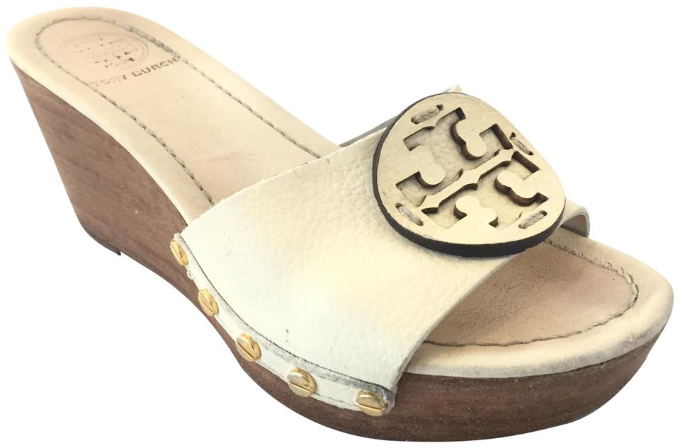 dd7ccce2e02c0 Tory Burch Bleach 138 Patti Wedge Sandals Size US 7 Regular (M
