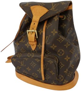 Louis Vuitton Montsouris Pm Designer Backpack