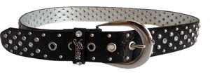 Guess Guess Belt Black studded Size L NEW WITH TAGS