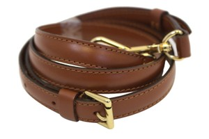 Louis Vuitton Louis Vuitton Leather Brown Shoulder Strap