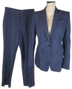 Richard Tyler Richard tyler couture gray wool blend 2 piece pant suit