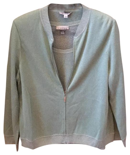 Item - Sport Mint Green with Silver Thread Top