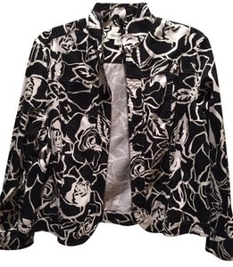 Coldwater Creek Black & White Jacket