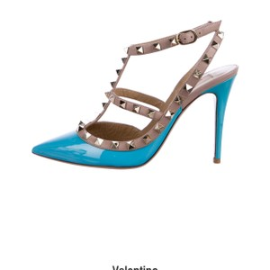 Valentino turquoise/nude Pumps