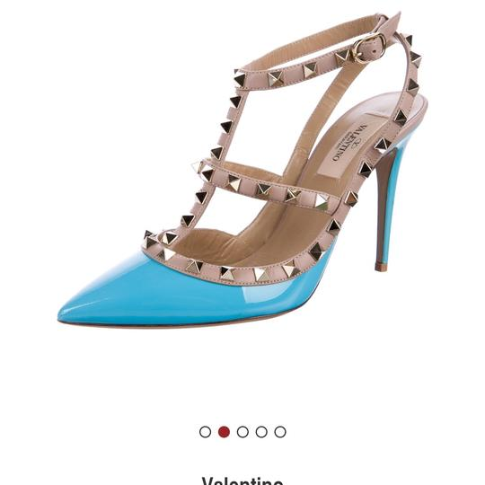 Valentino turquoise/nude Pumps Image 1