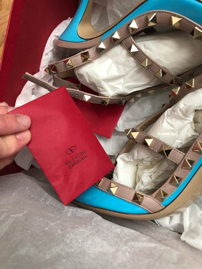 Valentino turquoise/nude Pumps Image 10