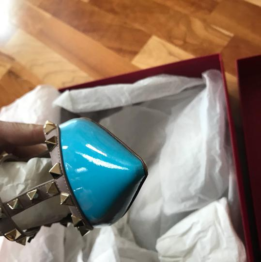 Valentino turquoise/nude Pumps Image 5
