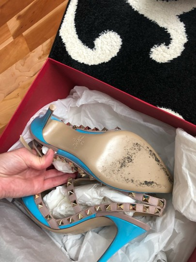 Valentino turquoise/nude Pumps Image 6