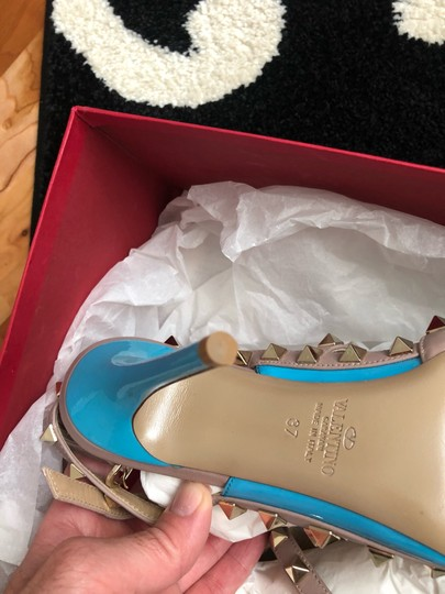 Valentino turquoise/nude Pumps Image 7