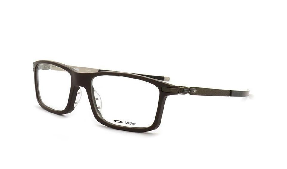 Oakley Satin Brown New Eyeglasses Ox8050-0453 Frame Clear Demo Lens ...