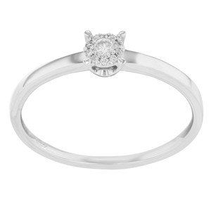 Damiani's Cluster Engagement Ring (14400)