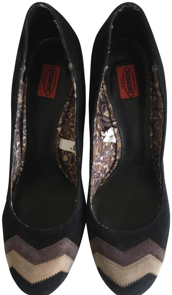 Missoni - for Target Black with Brown /Beige Accent - Missoni Pumps 8f5bbf