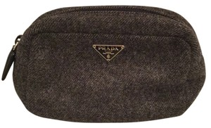 Prada Prada Wool Cosmetic Case