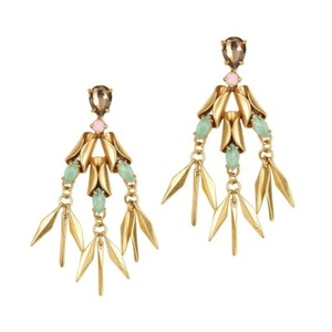 J.Crew New! J. Crew Crystal ray earrings