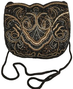 Carla Marchi Purse Shoulder Clutch Beaded Evening Cross Body Bag