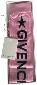 Givenchy Pink Givenchy over the knee socks