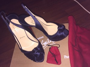 Christian Louboutin Authentic Red Bottoms Wedding Shoes