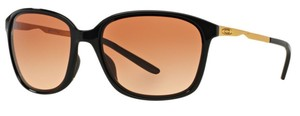 Oakley Oakley Women Sunglasses OO9291-04 Black Gold Frame Graduate Brown Lens