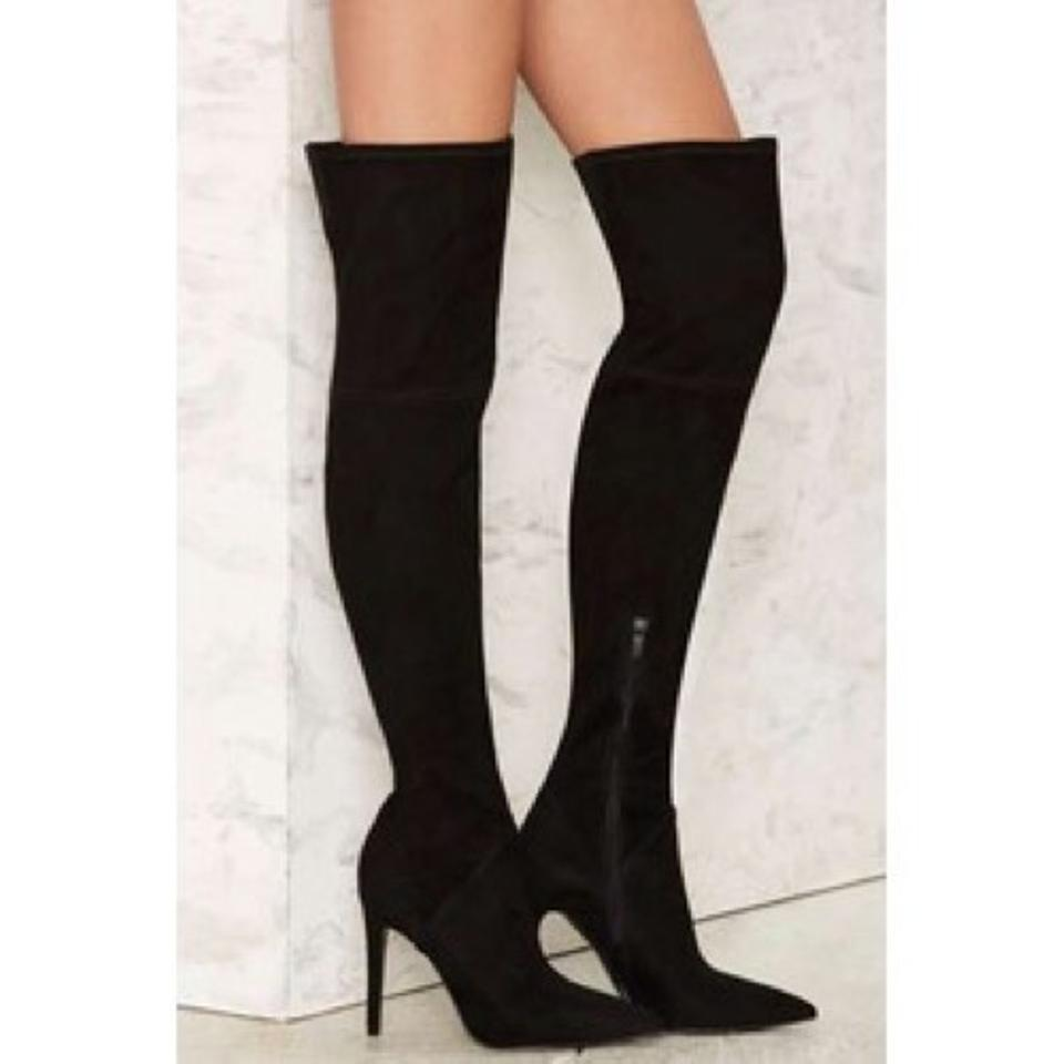 d121085b693 Kendall + Kylie Black Ayla Boots Booties Size US 8.5 Regular (M